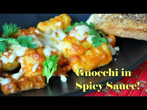 how-to-make-gnocchi-in-spicy-curry-sauce-|-eggless-recipe!