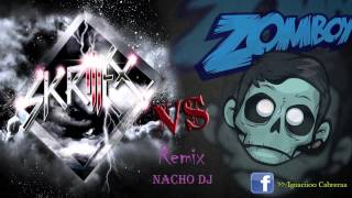 Skrillex Reptile vs Zomboy Here to Stay MashUp ♫♪