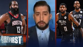 Rockets trade Harden to Nets - Nick talks winners & losers of 4-team deal | NBA | FIRST THINGS FIRST