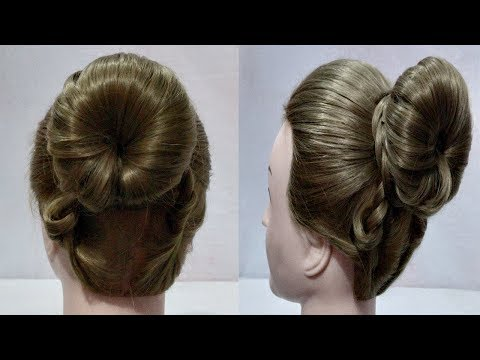 4 easy and beautiful juda hairstyles for girls || hair style girl ||  everyday hairstyles for girls thumbnail