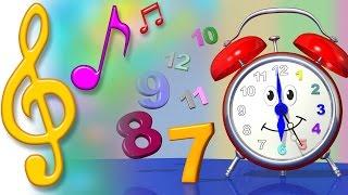 TuTiTu Sözleri ile Çocuklar için | Saat Şarkı | Şarkılar