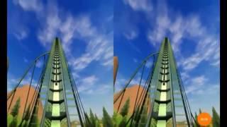 Realidad virtual-montaña rusa