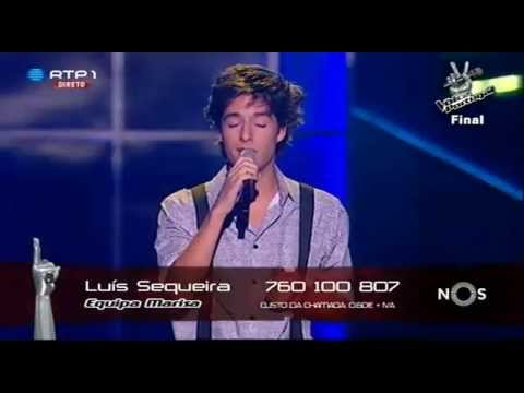 """Luís Sequeira - """"Stairway To Heaven"""" Led Zeppelin - Final - The Voice Portugal"""
