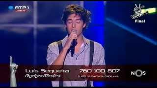 "Luís Sequeira - ""Stairway to Heaven"" Led Zeppelin - Final - The Voice Portugal"
