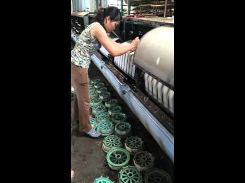 guồng tơ ( CH Silk factory )