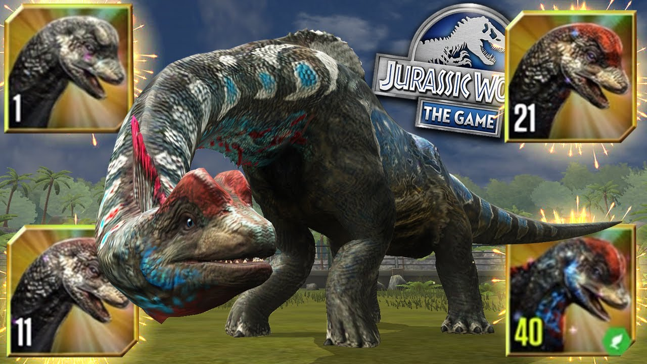 Download UNLOCKED AND MAXING SONORASAURUS!!! | Jurassic World - The Game - Ep492 HD