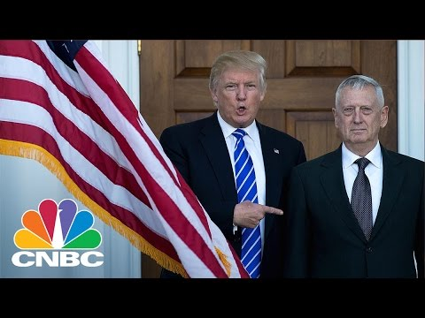 Donald Trump Picks James Mattis For Defense Secretary | CNBC