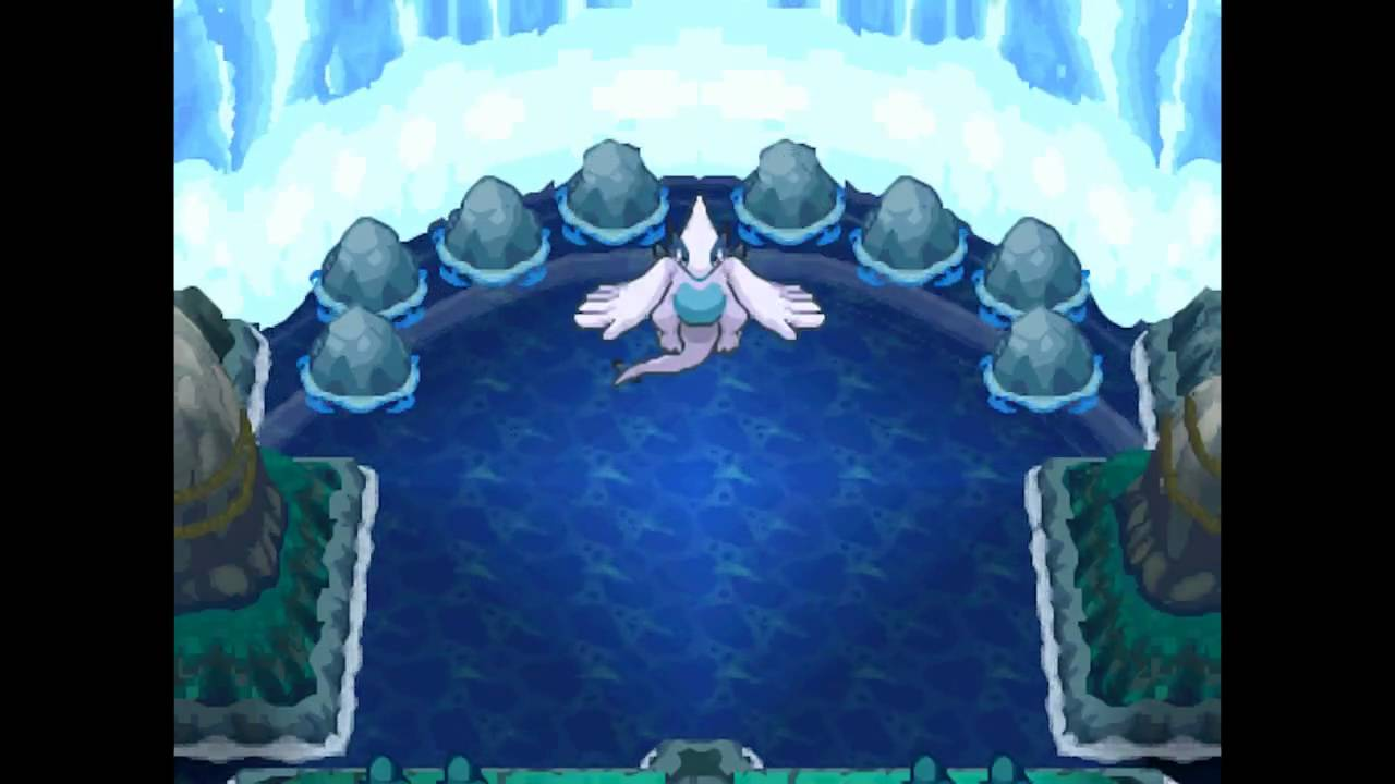 Pok mon soul silver lugia summoning youtube - Pokemon argent pokemon rare ...