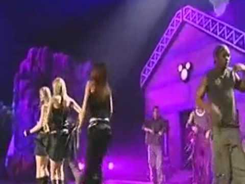 Atomic Kitten - The Tide Is High (Disney Channel Kids Awards 2002)