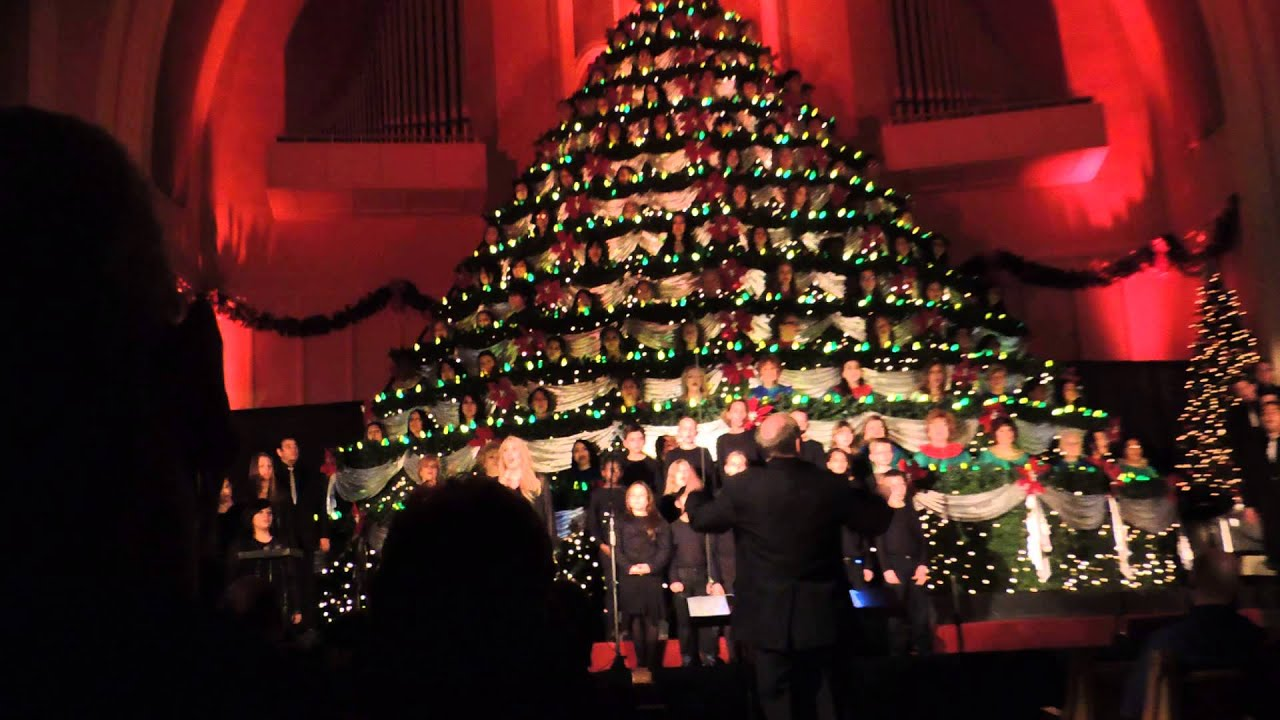 baby boy firts baptist church el paso living tree performance - Living Christmas Tree