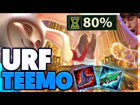MY BEST URF GAME | URF TEEMO FULL GAMEPLAY - BunnyFuFuu