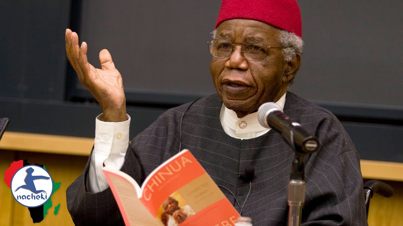 Worlds Famous Novelist Chinua Achebe Speech on why Africa Has to Tell its Own Stories