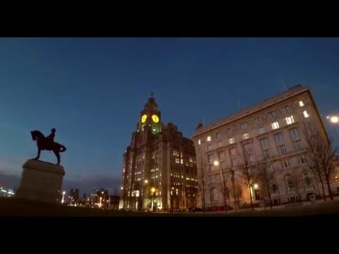 Liverpool Waterfront Time Lapse