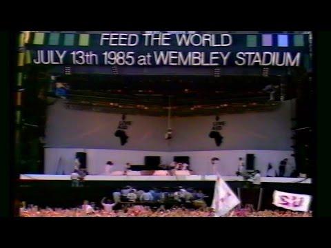 LIVE AID 1985 - PHIL COLLINS-BRYAN FERRY- HOWARD JONES -PART FOUR