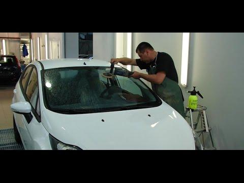 Как заменить лобовое стекло своими руками. Часть 1. - YouTube