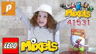 Lego Mixels series 4 flamzer 41531 Распаковка обзор конструктор лего миксели Unboxing