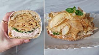 [1분완성] 사과 샌드위치 만들기 Make apple …
