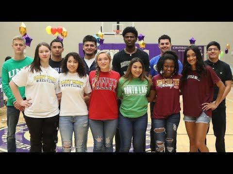 Chisholm Trail High School - Spring Signing Day 2019