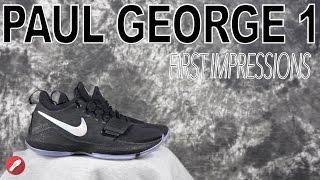 nike paul george 1 pg 1 first impressions