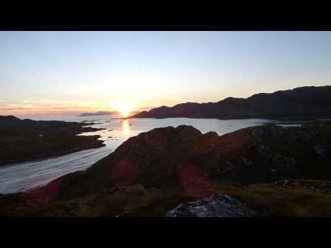 Hiking Scotland West Coast Argyll Sunset Highlands