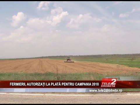 FERMIERII, AUTORIZAȚI LA PLATĂ PENTRU CAMPANIA 2018