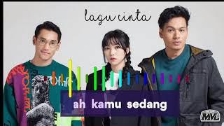 Gambar cover Afgansyah Reza, Isyana Sarasvati, Rendy Pandugo - Lagu Cinta (Video Lirik Lagu) MVL Studio