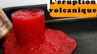 🌋 Éruption volcanique | Expérience avec les enfants | Vinaigre et Bicarbonate