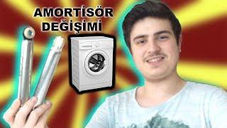 30 TL' YE TAMİR ETTİM (Çamaşır Makinesi Amortisör Değişimi)