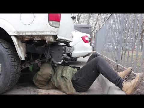 GMC Jimmy - Ремонт лебедки запасного колеса