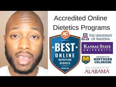 Online Dietetics Programs That Are Accredited
