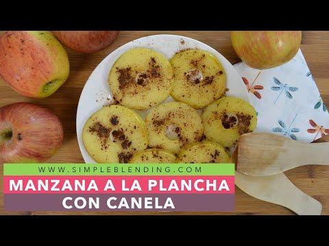 Tostadas de manzana   Manzana con canela   Desayuno saludable