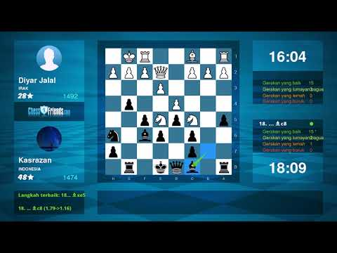 Chess Game Analysis: Diyar Jalal - Kasrazan : 0-1 (By ChessFriends.com)