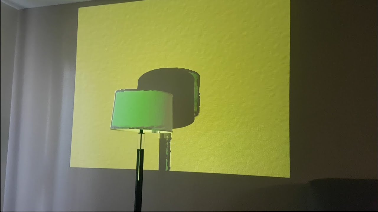 Projector Camera Calibration (Procam) for a Wall - YouTube