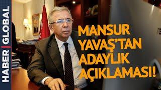 Mansur Yavaş Cumhurbaşkanı Adayı Olacak mı? İşte Cevabı!