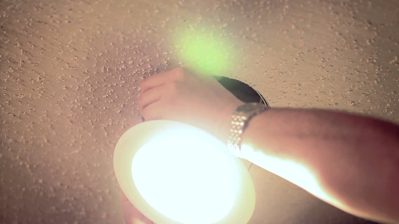 Dimmable, LED, Recessed Ceiling Lights : LED Lighting Tips - YouTube