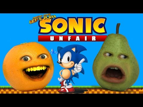 Annoying Orange - SONIC UNFAIR (Ragequit) W/ Pear