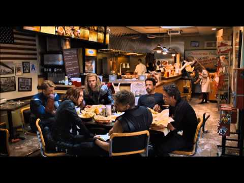 The Avengers - Complete Shawarma Post Credits Scene *HD*