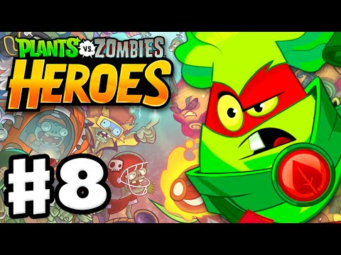 Plants vs. Zombies: Heroes - Gameplay Walkthrough Part 8 - Brass Knuckles! (iOS, Android)