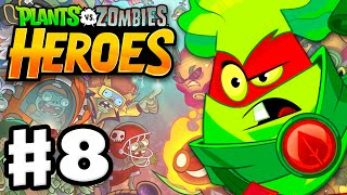 Plants vs. Zombies: Heroes - Gameplay Walkthrough Part 8 - Grass Knuckles! (iOS, Android)