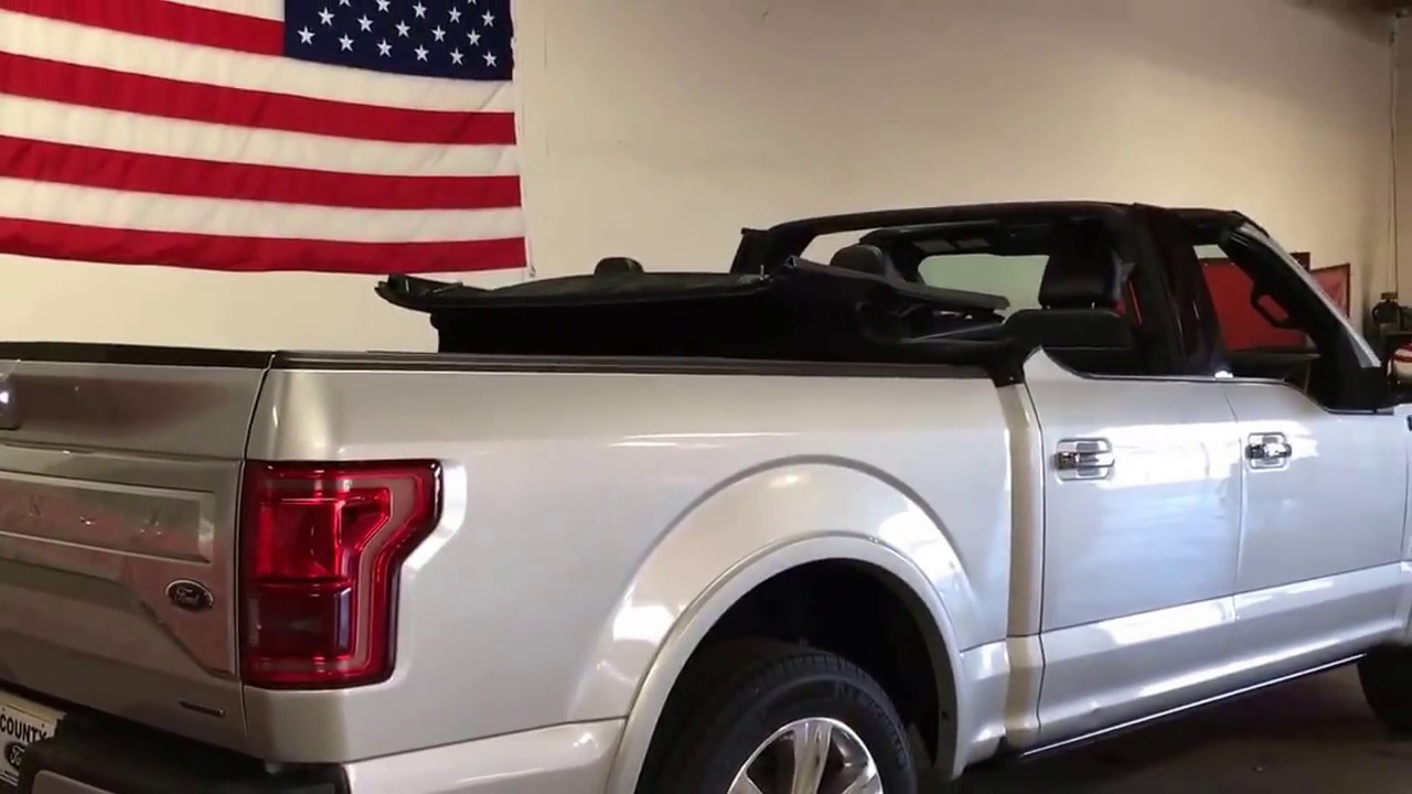 Ford F-150 convertible by NCE - YouTube