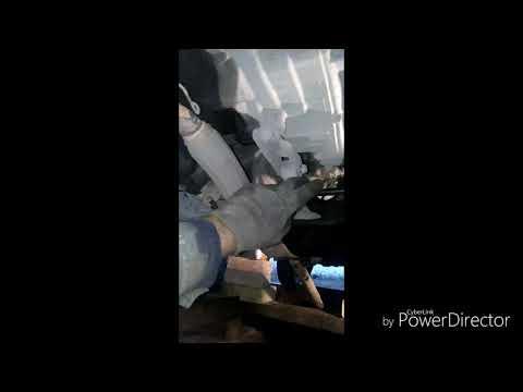 Снятие рулевой рейки Skoda Fabia 1