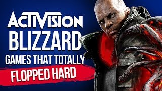 Activision Blizzard Games That Totally Flopped Hard