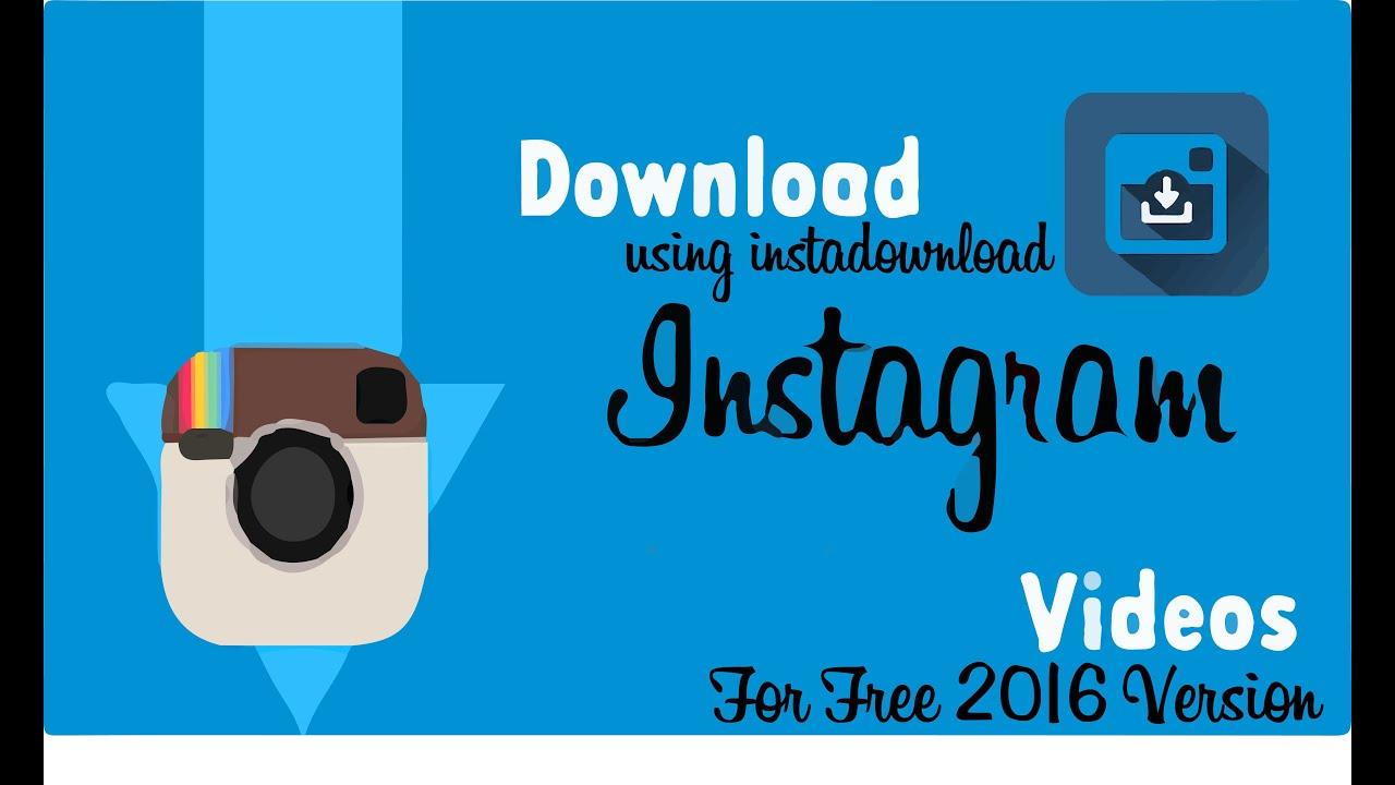 instagram videos download online