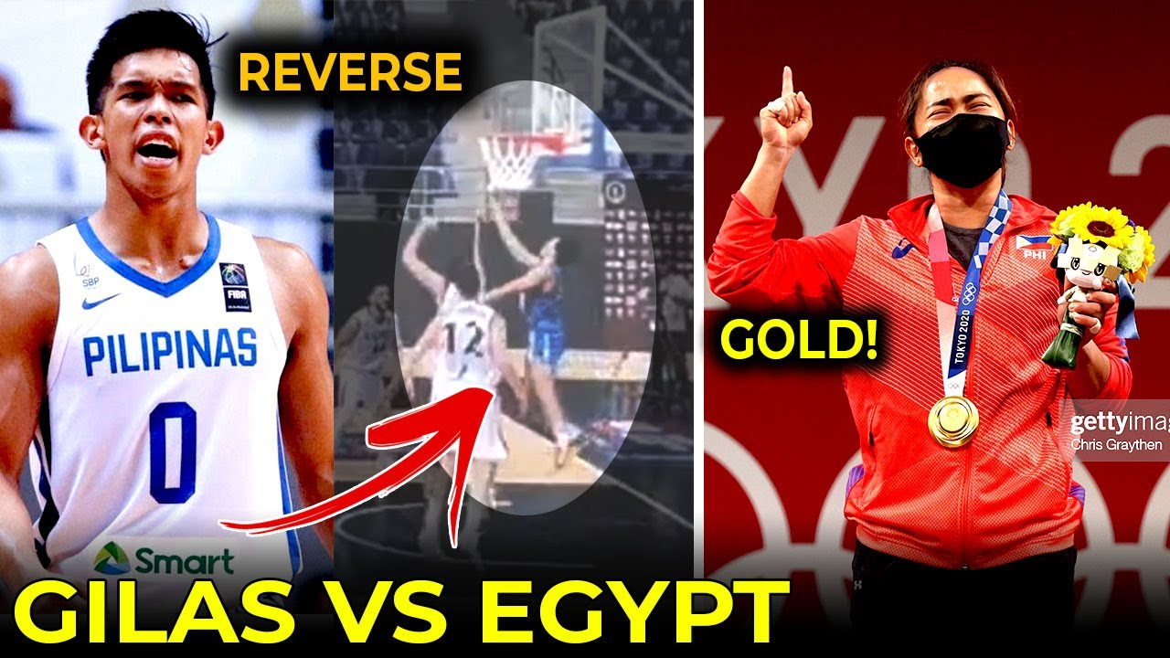 Thirdy is BACK, Gilas Pilipinas vs Egypt! | After 97years, may GOLD medal na tayo!