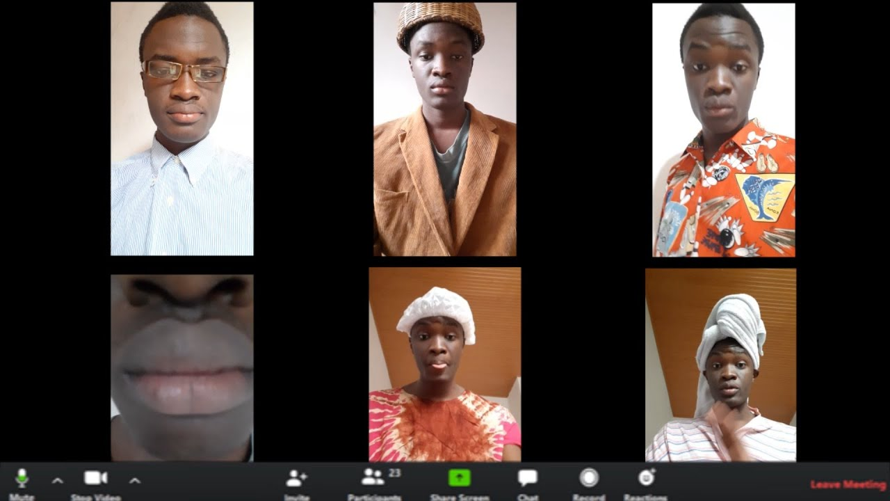 AFRICA COMEDY: TYPES OF PEOPLE DURING ONLINE CLASSES/ VIDEO CALLS
