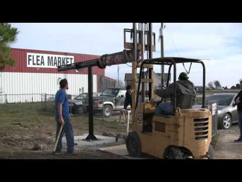 Missouri Wind and Solar how to diy timed solar tracker frame install