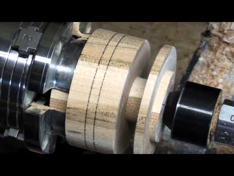 Reel For Ice Fish Woodturning