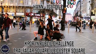 [K-POP IN PUBLIC CHALLENGE] HANN 한 (ALONE) - (G)I-DLE ((여자)아이들) DANCE COVER IN LONDON [KRUSH LDN]