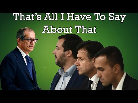 How To Solve The Italian Debt Crisis; The Five Star Party vs. The European Commission