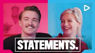Yung Felix en Bram Krikke showen dance moves - STATEMENTS. | SLAM!